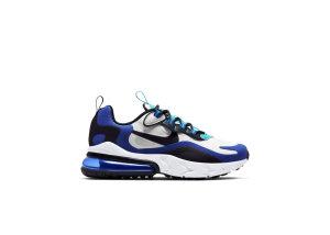 Nike Air Max 270 React Hyper Blue (GS) White/Hyper Blue/Oracle Aqua (BQ0103-105)