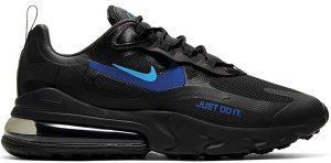 Nike  Air Max 270 React Just Do It Black Black/Hyper Royal-Cool Grey-Blue Hero (CT2203-001)