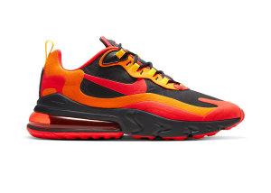 Nike  Air Max 270 React Magma Black/Speed Yellow/Magma Orange (CZ9267-001)