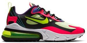 Nike  Air Max 270 React Parachute Black/Pink-Green-Purple (CU4705-001)