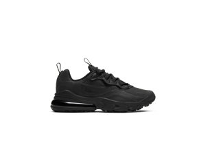 Nike Air Max 270 React Triple Black (GS) Black/Black/Black (BQ0103-004)