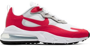 Nike  Air Max 270 React White University Red White/Pure Platinum-Black-University Red (CW2625-100)
