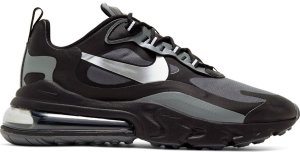 Nike  Air Max 270 React Winter Black Dark Grey Black/Dark Grey-Metallic Silver (CD2049-001)