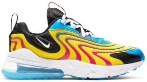 Nike  Air Max 270 React Yellow Red (GS) Yellow/Red-Blue-Black-White (CD6870-700)