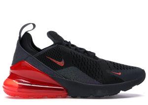 Nike  Air Max 270 Safari Off Noir Habanero Red Off Noir/Habanero Red-Thunder Grey (BQ6525-001)