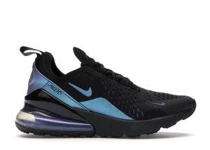 Nike  Air Max 270 Throwback Future (W) Black/Laser Fuchsia-Regency Purple (AH6789-011)