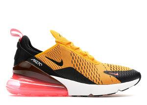 Nike  Air Max 270 University Gold Black/University Gold-Hot Punch-White (AH8050-004)