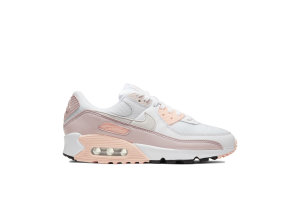 Nike  Air Max 90 White Barely Rose (W) White/Barely Rose-Crimson Tint-Platinum Tint (CT1030-101)