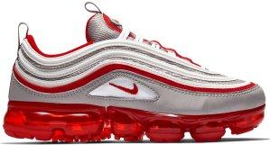 Nike  Air VaporMax 97 Atmosphere Grey University Red (GS) Atmosphere Grey/White-University Red (BV1153-002)