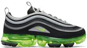 Nike  Air Vapormax 97 Japan (GS) Black/Volt-Metallic Silver-White (AQ2657-002)
