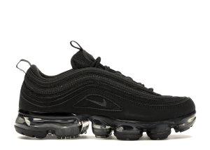 Nike  Air VaporMax 97 Triple Black (GS) Black/Anthracite-Metallic Silver (AQ2657-001)