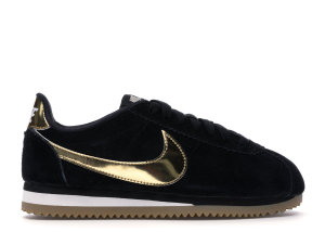 Nike  Classic Cortez Black Metallic Gold Gum (W) Black/Phantom-Gum Light Brown-Metallic Gold (902856-014)