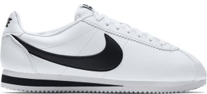 Nike  Classic Cortez Leather White Black White/Black (749571-100)