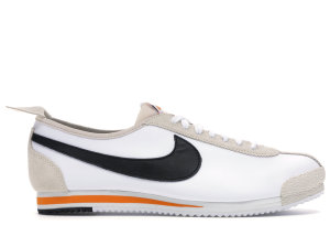 Nike  Cortez 72 Blue Ribbon Sports White/Black-Orange (CK9667-100)
