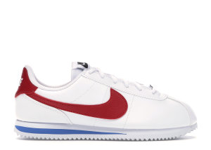 Nike  Cortez Basic Forrest Gump (GS) White/Varsity Royal-Black-Varsity Red (904764-103)