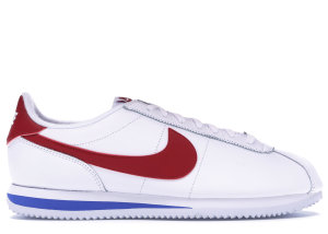 Nike  Cortez Basic Leather Forrest Gump (2017) White/Varsity Red-Varsity Royal (882254-164)