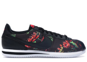 Nike  Cortez Floral Black/Black-Red Orbit-Summit White (BV6067-001)