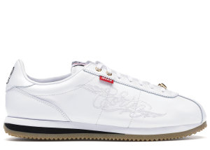 Nike  Cortez Mister Cartoon White White/Black-Gum Light Brown (AA4875-100)