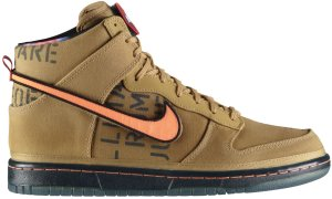 Nike  Dunk High All Star Galaxy Gold Flight Gold/Total Orange (503766-780)