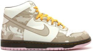 Nike  Dunk High 1 Piece White Khaki Pink Ice White/Khaki-Pink Ice (311612-121)