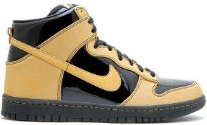 Nike  Dunk High All-Star (2008) Black/Metallic Gold (323955-071)
