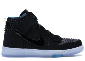 Nike  Dunk High All-Star Game (2015) Black/Black-Hyper Jade (744309-001)