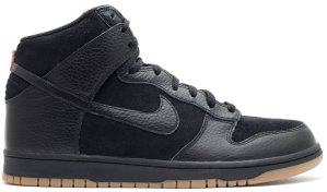 Nike  Dunk High Black Gum (2011) Black/Black-Gum Medium Brown (407920-020)