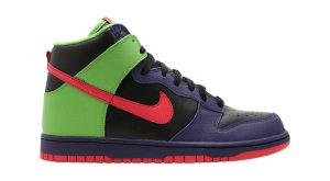 Nike  Dunk High Bling Pack Black/Max Orange/Green Bean (309432-081)