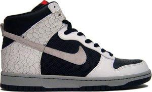 Nike  Dunk High Cement 3M Black/Neutral Grey-White (317891-001)