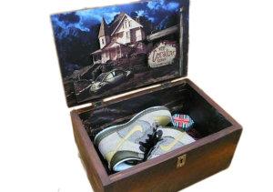 Nike  Dunk High Coraline (Special Box) Barley/Barley-Khaki-Dark Loden (373349-771)