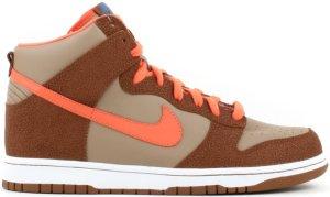Nike  Dunk High Fantastic Four Thing Beechtree/Orange Blaze-Hazel (312786-281)