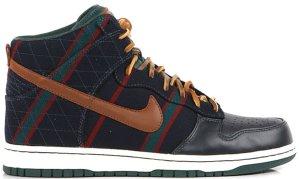 Nike  Dunk High Fox Bros Obsidian/Pecan (598955-400)
