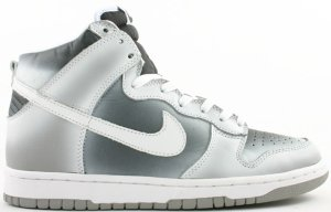 Nike  Dunk High Haze Black/White-Medium Grey (306799-011)
