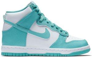 Nike  Dunk High Island Green (GS) Island Green/White-Island Green (921797-300)
