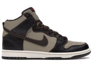 Nike  Dunk High Khaki Baroque Brown Khaki/Baroque Brown-Khaki-Light Bone (306968-221)