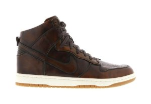 Nike  Dunk High Lux Burnished Classic Brown/Classic Brown (747138-221)