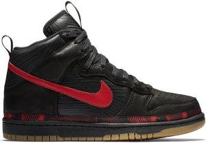 Nike  Dunk High N7 (2017) Black/University Red-Gum Medium Brown (AA1126-001)