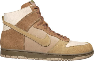 Nike  Dunk High No Liner Wheat Net/Green Curry-Dark Khaki-Bone (311296-131)