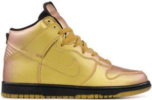 Nike  Dunk High Olympic (2004) Metallic Gold/Metallic Gold-Black (308348-771)