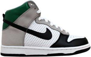 Nike  Dunk High Premium Bo Knows Medium Grey/Black-White-Pine Green (306968-002)
