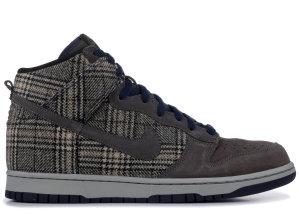 Nike  Dunk High Premium Tweed Pack Mid Fog/Mid Navy/Medium Grey (306968-003)