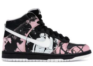 Nike  Dunk High Pro SB Unkle Black/White (305050-013)