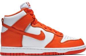 Nike  Dunk High Retro Be True Syracuse (W) White/Orange Blaze (854340-100)