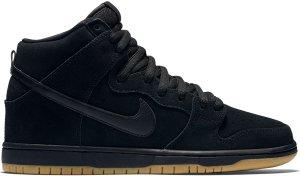 Nike  Dunk High SB Black Gum (2016) Black/Black-Gum Light Brown (305050-029)