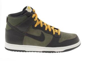 Nike  Dunk High Urban Haze Dark Charcoal Urban Haze/Dark Charcoal-Sail (407920-301)