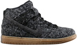 Nike  Dunk High Warmth Pack Black/Black-Gum Med Brown (684807-002)