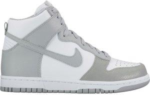 Nike  Dunk High White Wolf Grey (W) White/Wolf Grey (899451-100)