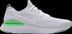 Nike  Epic React Flyknit 2 8-bit White/White-Lime Blast (BQ8928-100)