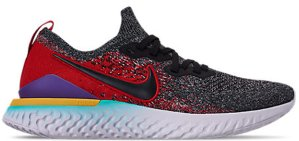Nike  Epic React Flyknit 2 Black Hyper Jade University Red Black/Black-Hyper Jade-University Red-Hyper Grape-Amarillo (BQ8928-007)