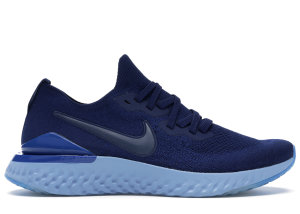 Nike  Epic React Flyknit 2 Blue Void Blue Void/Blue Void-Indigo Force-Black (BQ8928-400)
